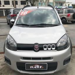 Título do anúncio: Fiat Uno Way 1.0 - 2015/2016