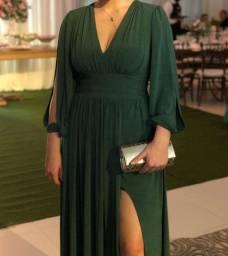 vestido longo festa maravilhoso em verde