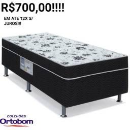 Título do anúncio: OFERTA RELÂMPAGO!!!CAMA CONJUGADA ORTOBOM SOLTEIRÃO!!!!