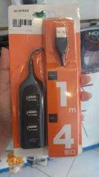 Hub USB 4 Portas 2.0