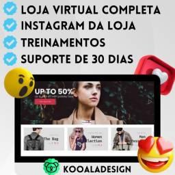 Título do anúncio: Loja Virtual Shopify Profissional De Alta Conversão Completa