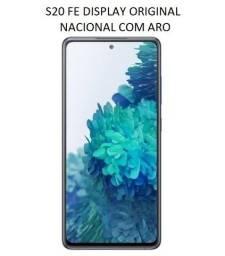 Título do anúncio: Tela Original Nacional Para Samsung S20 FE G780 Com Aro (S20FE)