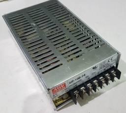 Fonte Mean Well 24v  Modelo SP-100-24