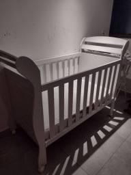 Berço-mini cama com colchão Ortobom