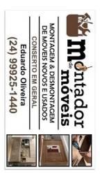 Título do anúncio: Montagem  e desmontagem de móveis em Volta Redonda RJ. Montador Eduardo Oliveira.
