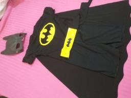 Fantasia Batman tamanho P