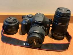 Kit Câmera Canon T7  na Garantia