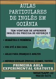 Título do anúncio: Aulas particulares de inglês em Goiânia