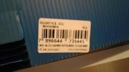 Título do anúncio: Caixa arquivo morto plastico/polionda arquivo fácil azul