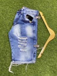 Bermuda jeans 3 por 100,00