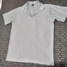 Blusa polo + camiseta masculino