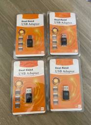 Título do anúncio: Adaptador Wireless WIFI 2.4 5.0 Usb