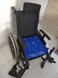 """Título do anúncio: Cadeira de roda manual dobrável  """"ortobras"""" ."""