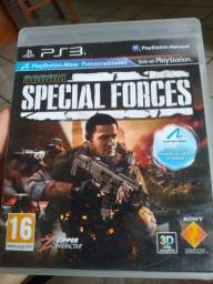 Jogo PS3 - Socom Special Forces