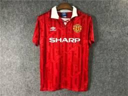 Camisa Manchester United Retrô 1993-94 Home