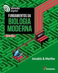 Vereda Digital - Fundamentos Da Biologia Moderna SOMENTE PARTE 1