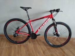 Título do anúncio: bike aro 29x17.5 vermelha lotus