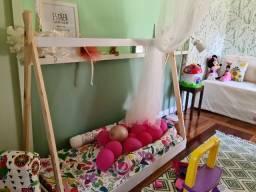 Cama infantil cabana