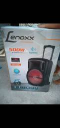 Caixa amplificada Lenoxx 500w  R$ 550,00  vem no ZAP *
