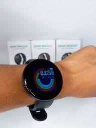 Título do anúncio: Relógio Inteligente Smartwatch D18 Preto / Entrega Grátis JP