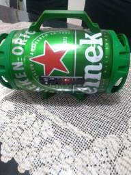 Caixa se som barril Heineken