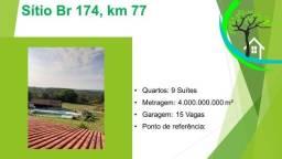 Título do anúncio: sítio - Br 174, km 77
