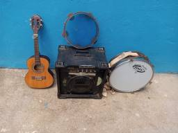 Instrumentos em perfeito estado