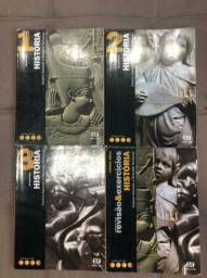 Livros didáticos de História- Projeto Voaz