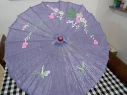 Guarda chuva da China decoração