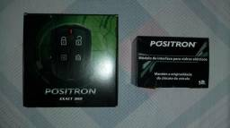 Alarme Positron EX 360 e Módulo TR111 V2 trava/sobe desce vidro