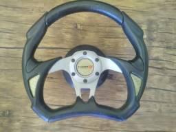 Volante tuning esportivo Com bota de buzina