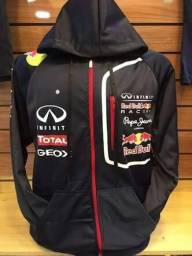 Blusa Red Bull Com Ziper