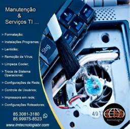 TI, Assistência Técnica em Notebooks, Formatação, Domicílio, Técnico de Informática