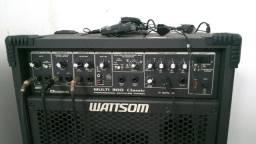 Caixa Amplificada Wattsom Multi 300 Classic