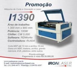 Máquinas de corte e gravação a Laser I1390