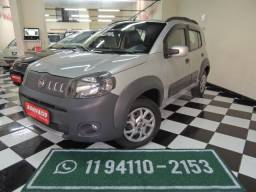 Fiat/ Uno EVO Way1.4- Flex - Prata- Completo - 2011