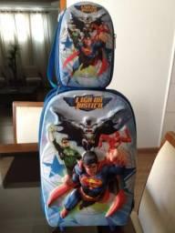 Mochila super heróis , cestine