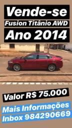 Ford Fusion Titanium AWD - 2014