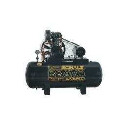 Compressor de ar CSL20BR/200L 5cv 220/380v - Bravo