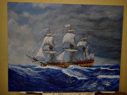 ?HMS White Horse?