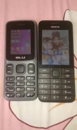 Dois celular 50 cada