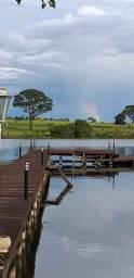 Rancho em condomínio lago azul 1. no Rio Tietê em Buritama