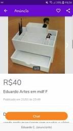 Eduardo Artes em mdf F