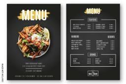 Cardápio de Restaurante, Pizzaria e Similares