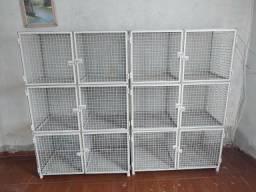 Estrutura Metálica Pronta Para Gatil, Canil, Viveiros, Aves