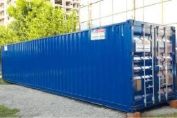 Locação mensal container almoxarifado 40 pés 12 metros