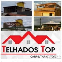 Carpinteiro Telhadeiro Profissional - TOP Telhados