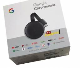 Chromecast 3 Novo Pronta Entrega