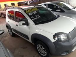 Fiat uno1.4 way completo Flex conservado branco