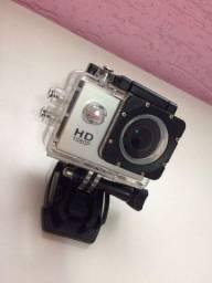 Câmera fotográfica e go Pro